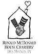 Logo for Ronald McDonald House Charities